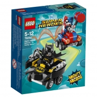 Конструктор LEGO SUPER HERO Mighty Micros: Бэтмен против Харли Квин